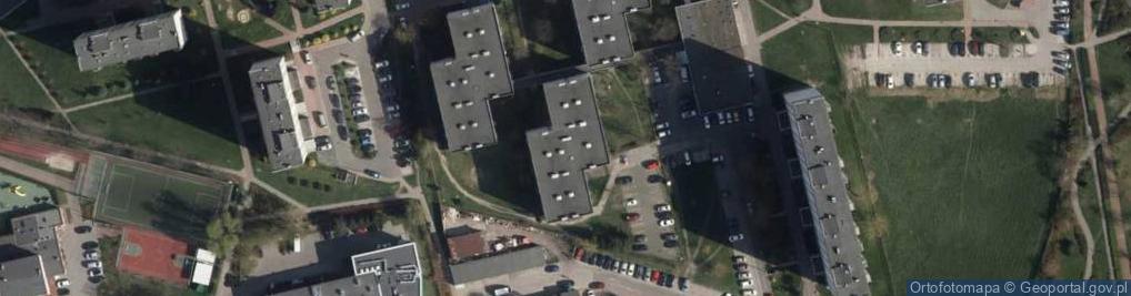 Zdjęcie satelitarne Wojciechowskiego Stanisława ul.