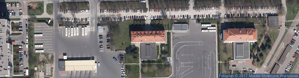 Zdjęcie satelitarne Woronicza Jana Pawła ul.