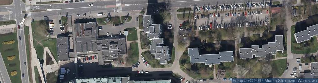 Zdjęcie satelitarne Wokalna ul.