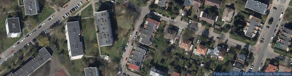 Zdjęcie satelitarne Woziwody ul.