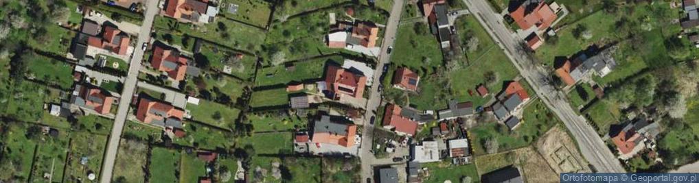 Zdjęcie satelitarne Wróbla Jana ul.