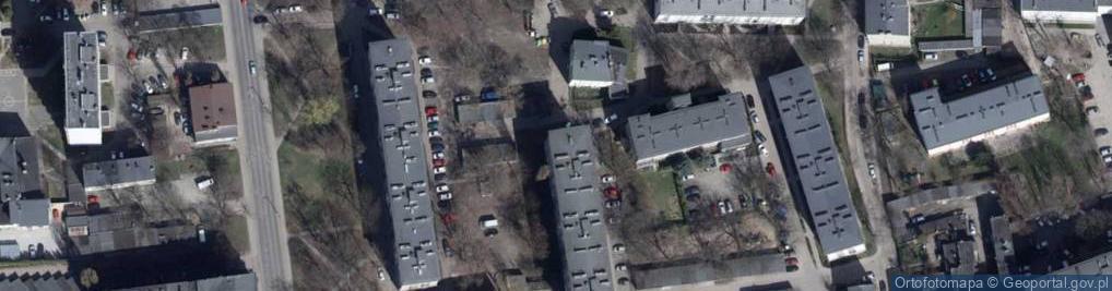 Zdjęcie satelitarne Współzawodnicza ul.