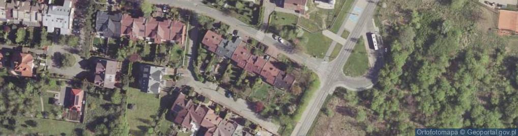 Zdjęcie satelitarne Wstępna ul.