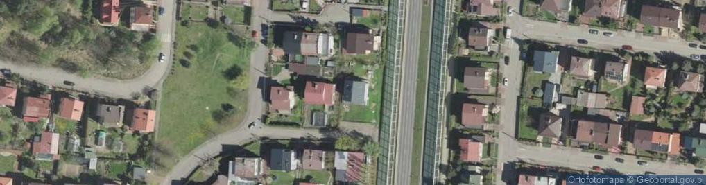 Zdjęcie satelitarne Wyki Kazimierza ul.