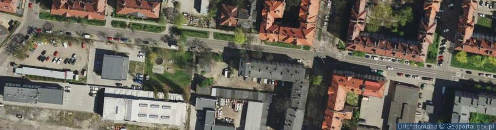 Zdjęcie satelitarne Wyczółkowskiego Leona ul.