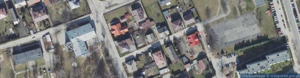 Zdjęcie satelitarne Wyrobka ul.
