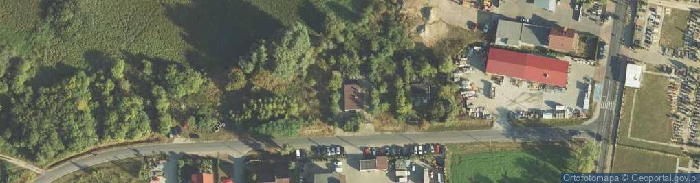 Zdjęcie satelitarne Wybudowanie ul.