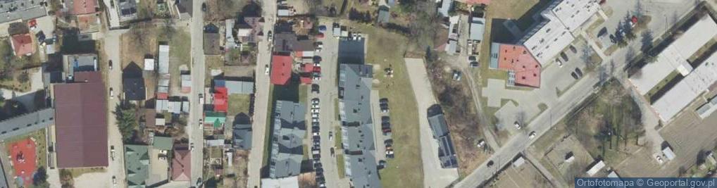Zdjęcie satelitarne Wybrzeże Ferdynanda Focha, marsz. ul.
