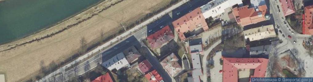 Zdjęcie satelitarne Wybrzeże Józefa Piłsudskiego, marsz. ul.