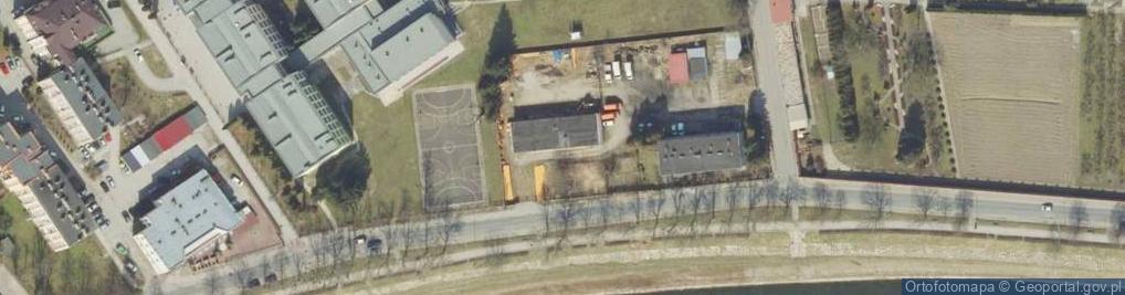Zdjęcie satelitarne Wybrzeże Ojca Świętego Jana Pawła II ul.