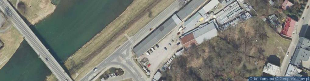 Zdjęcie satelitarne Wybrzeże Thomasa Woodrowa Wilsona, prezydenta ul.