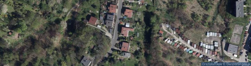 Zdjęcie satelitarne Wypandów ul.
