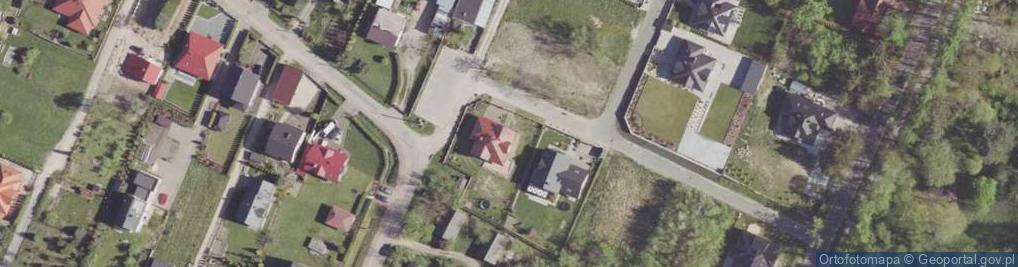 Zdjęcie satelitarne Wyborna ul.