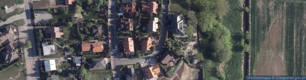 Zdjęcie satelitarne Wypoczynkowa ul.