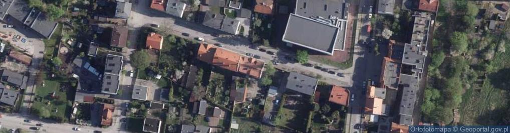 Zdjęcie satelitarne Wyrzyska ul.