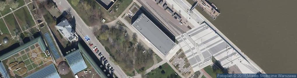Zdjęcie satelitarne Wybrzeże Kościuszkowskie ul.