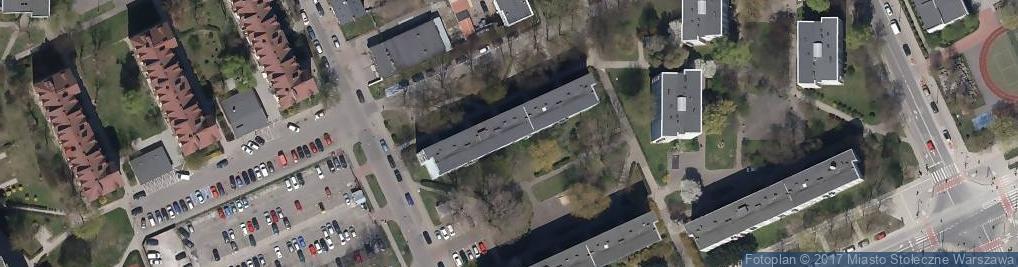 Zdjęcie satelitarne Wybrańska ul.