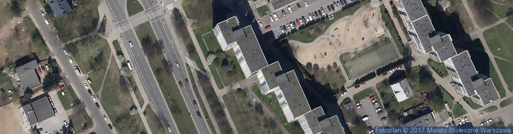 Zdjęcie satelitarne Wysockiego Piotra ul.