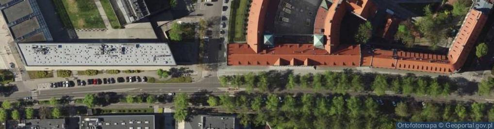 Zdjęcie satelitarne Wybrzeże Stanisława Wyspiańskiego ul.
