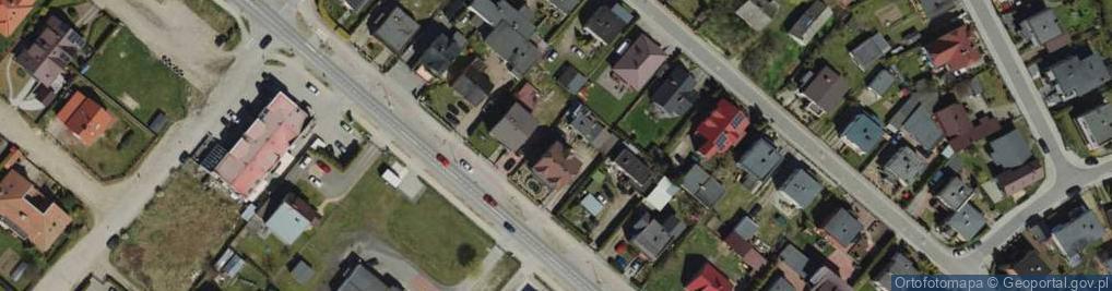 Zdjęcie satelitarne Zamostna ul.