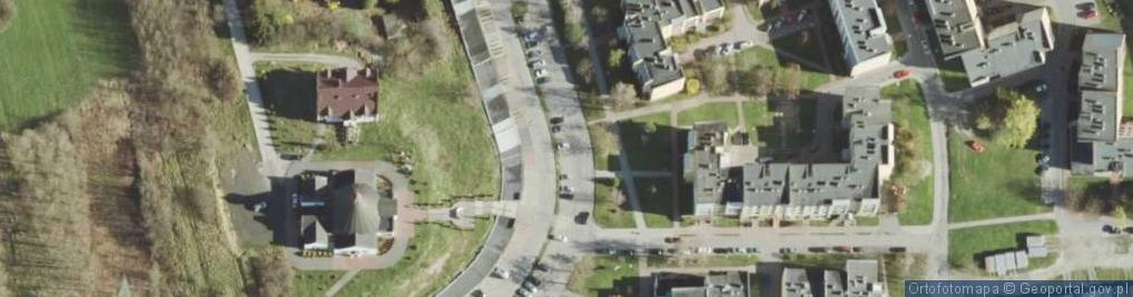 Zdjęcie satelitarne Zawadówka ul.