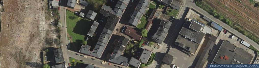 Zdjęcie satelitarne Zawiszy Czarnego ul.