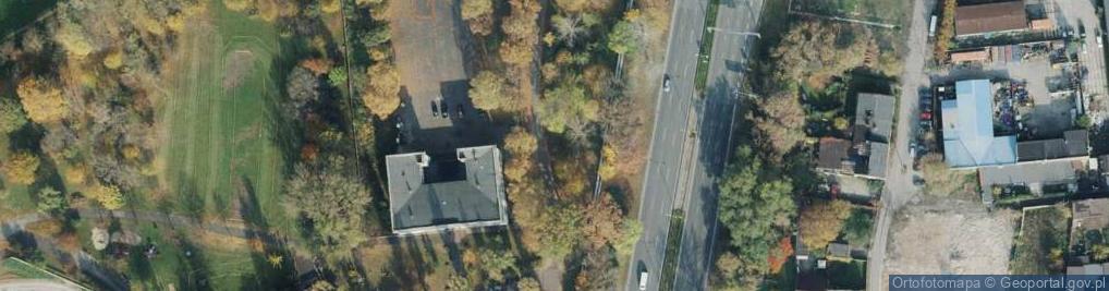Zdjęcie satelitarne Żabia ul.