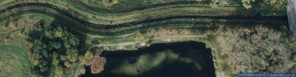 Zdjęcie satelitarne Zaciszańska ul.