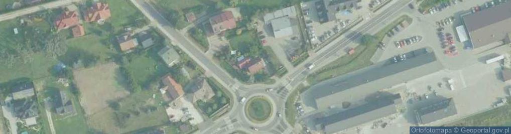 Zdjęcie satelitarne Zarabie ul.