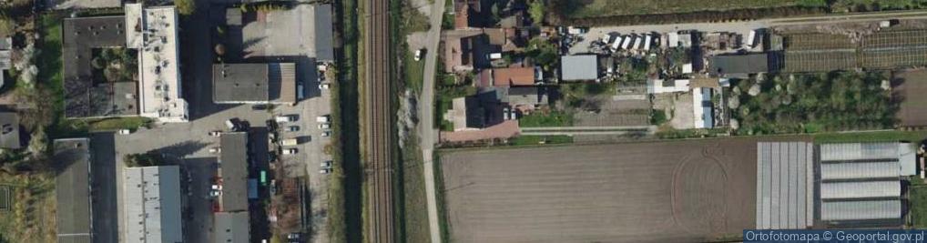 Zdjęcie satelitarne Zawiejska ul.