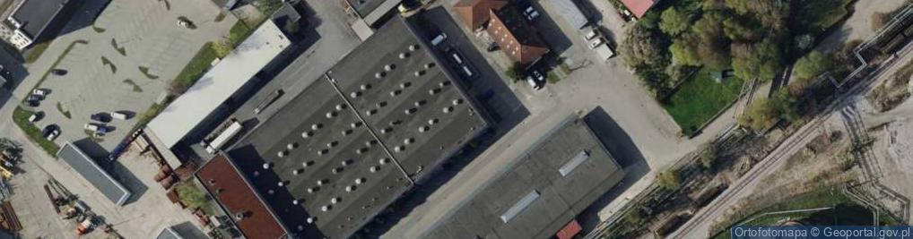 Zdjęcie satelitarne Załogowa ul.