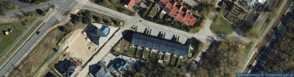 Zdjęcie satelitarne Zachodnia ul.