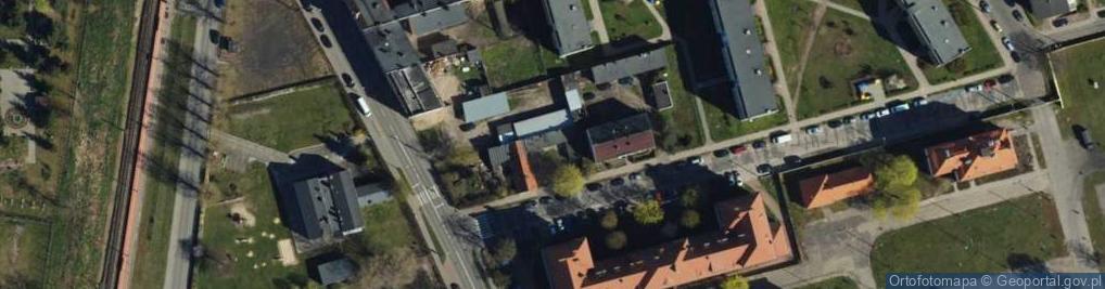 Zdjęcie satelitarne Zaciszna ul.
