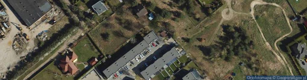 Zdjęcie satelitarne Zająca J., dr. ul.