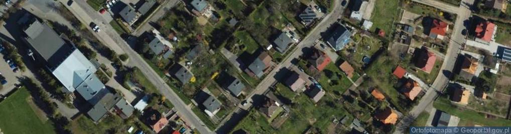 Zdjęcie satelitarne Zapolskiej Gabrieli ul.