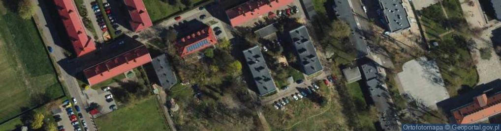 Zdjęcie satelitarne Zaułek ul.