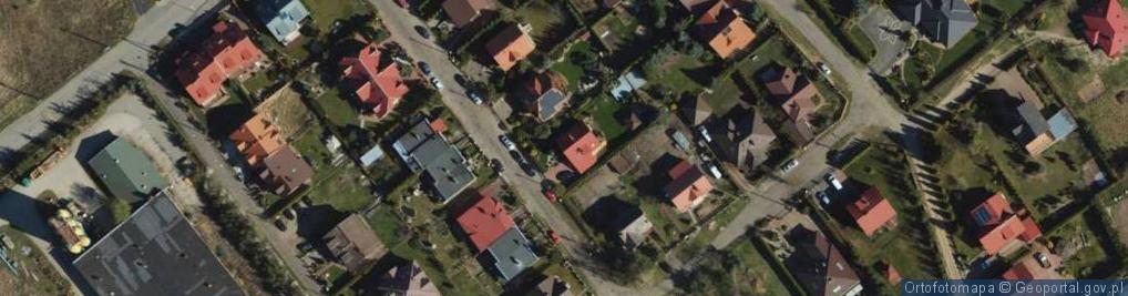 Zdjęcie satelitarne Zawilcowa ul.