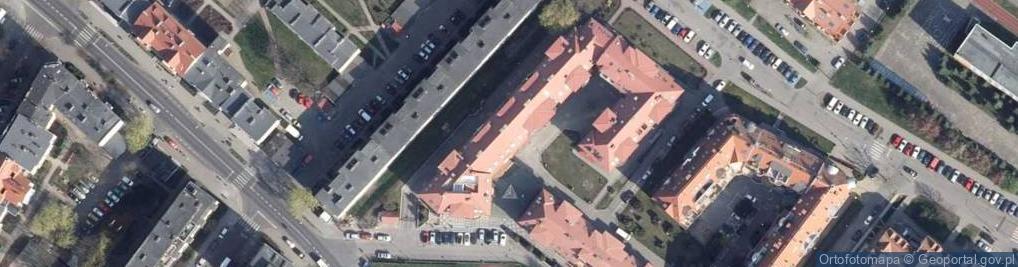 Zdjęcie satelitarne Zapleczna ul.