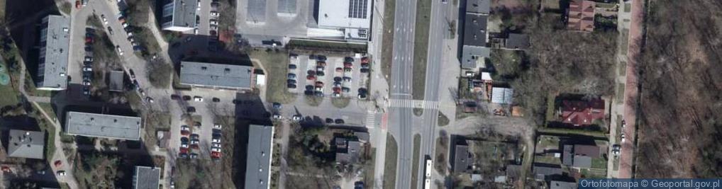 Zdjęcie satelitarne Zagajnikowa ul.