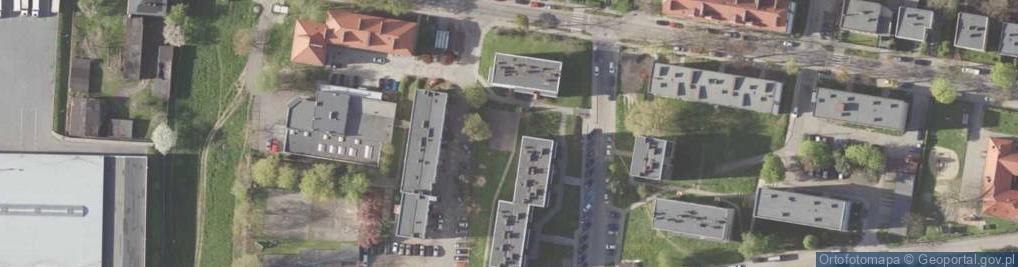 Zdjęcie satelitarne Zawilców ul.