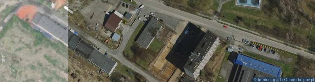 Zdjęcie satelitarne Zakładowa ul.