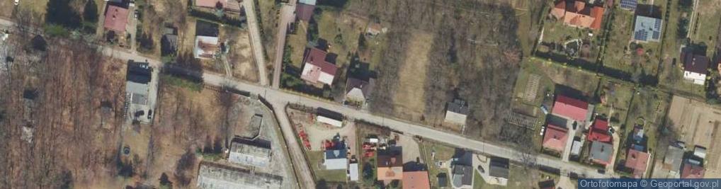 Zdjęcie satelitarne Zakopiańska ul.