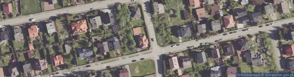 Zdjęcie satelitarne Zakrzewska ul.