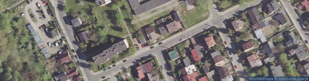 Zdjęcie satelitarne Zalewowa ul.