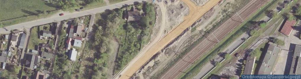 Zdjęcie satelitarne Żakowicka ul.
