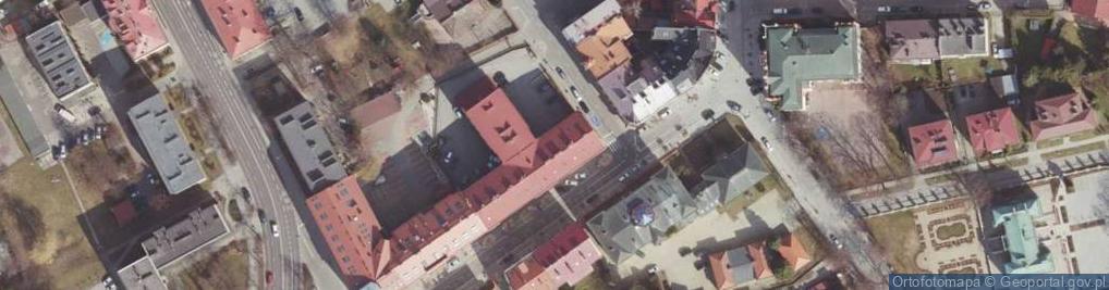 Zdjęcie satelitarne Zamkowa ul.