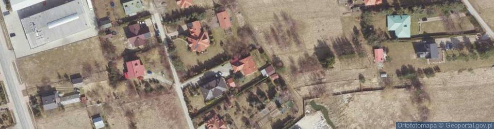 Zdjęcie satelitarne Zakątkowa ul.