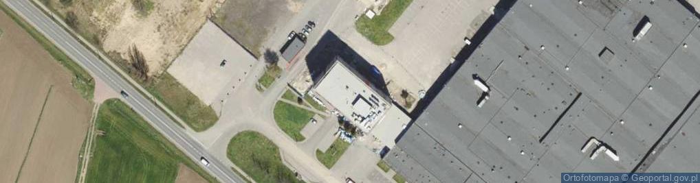 Zdjęcie satelitarne Zagórska ul.