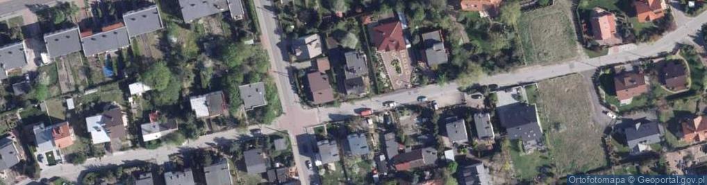 Zdjęcie satelitarne Zagonowa ul.