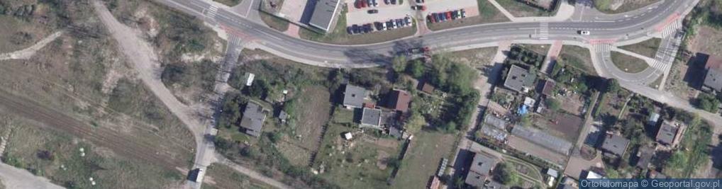 Zdjęcie satelitarne Zakątek ul.
